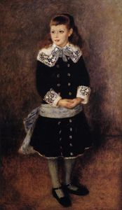 Pierre-Auguste Renoir - Marthe Berard (also known as Girl Wearing a Blue Sash)