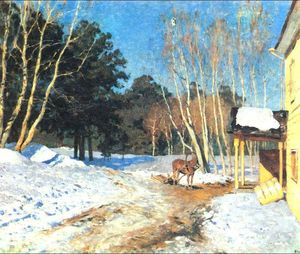 Isaac Levitan - March