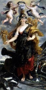 Peter Paul Rubens - Marie de Medicis as Bellona