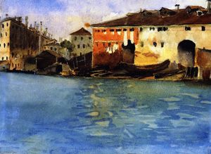 John Singer Sargent - The Marinarezza, Venice