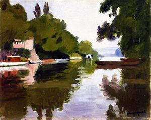 Albert Marquet - The Marne at Chennevières