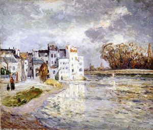 Maxime Emile Louis Maufra - The Marne at Lagny