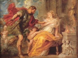 Peter Paul Rubens - Mars and Rhea Silvia