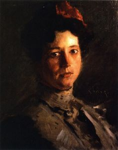 William Merritt Chase - Martha Walter