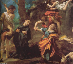 Antonio Allegri Da Correggio - The Martyrdom of Four Saints