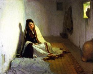 Henry Ossawa Tanner - Mary (also known as La Sainte-Marie)