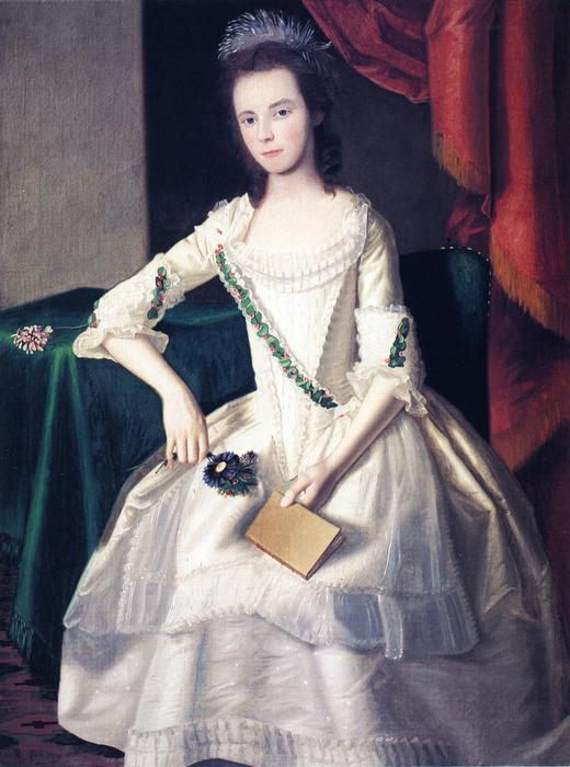 Mary Ann Carpenter, 1779 by Ralph Earl (1751-1801, United States) | Painting Copy | WahooArt.com