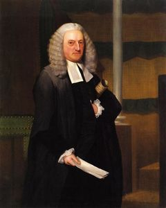 Ralph Earl - A Master in Chancery Entering the House of Lords