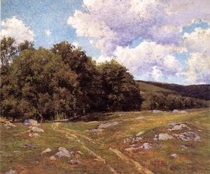 Hugh Bolton Jones - Meadow Crossing