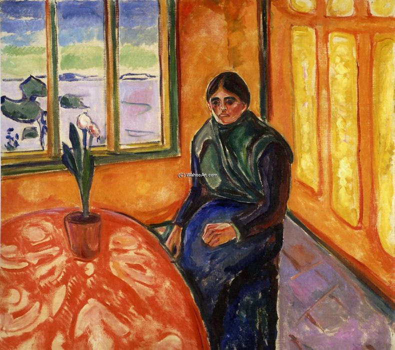 Melancholy, Laura, Oil On Canvas by Edvard Munch (1863-1944, Sweden)