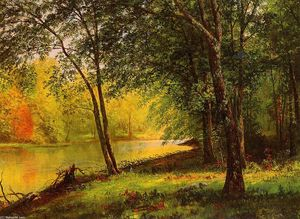 Albert Bierstadt - Merced River, California