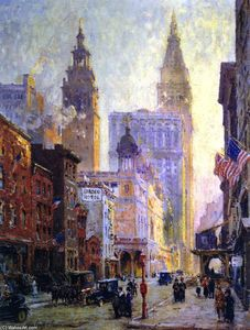 Colin Campbell Cooper - Metropolitan Tower, New York City