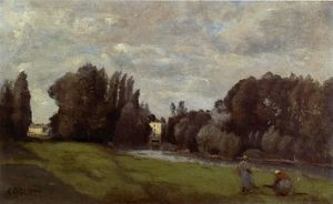 Jean Baptiste Camille Corot - The Mill in the Trees