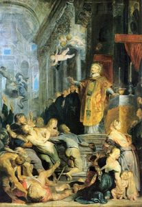 Peter Paul Rubens - Miracle of St. Ignatius of Loyola