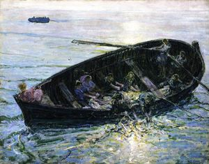 Henry Ossawa Tanner - Miraculous Haul of Fishes