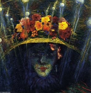 Umberto Boccioni - Modern Idol - (Famous paintings reproduction)