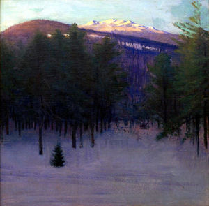 Abbott Handerson Thayer - Monadnock in Winter