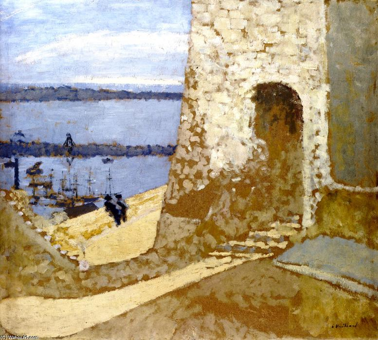 Mont Chevallier at Cannes, 1905 by Jean Edouard Vuillard (1868-1940, France) | Art Reproductions Jean Edouard Vuillard | WahooArt.com