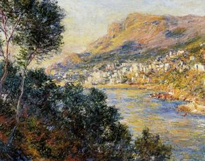 Claude Monet - Monte Carlo Seen from Roquebrune