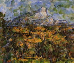 Paul Cezanne - Mont Sainte-Victoire Seen from Les Lauves