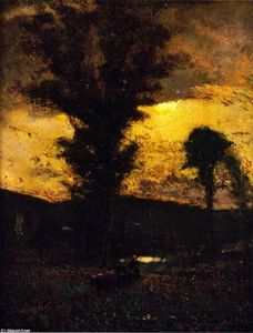 Elliott Dangerfield - Moonlit Landscape