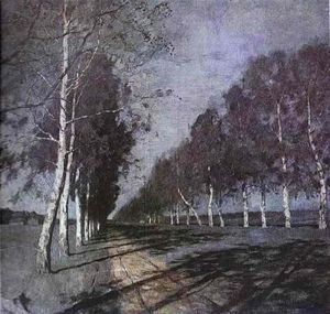 Isaak Ilyich Levitan - Moonlit Night