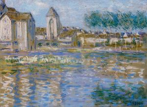 Alfred Sisley - Moret sur Loing