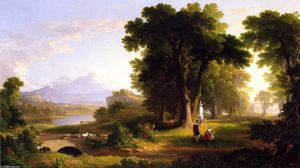 Asher Brown Durand - The Morning of Life