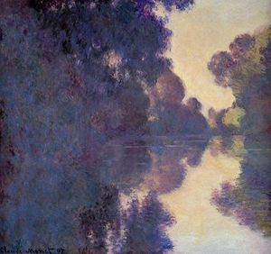 Claude Monet - Morning on the Seine, Clear Weather
