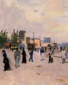 Jean Georges Béraud - A Morning Stroll