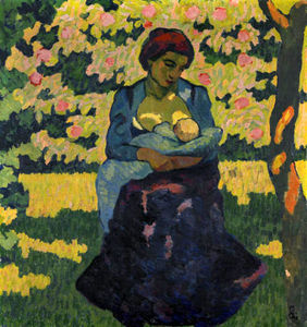 Giovanni Giacometti - The Mother