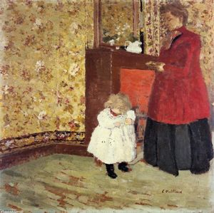 Jean Edouard Vuillard - Mother and Child
