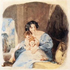 Thomas Sully - Mother with Her Children