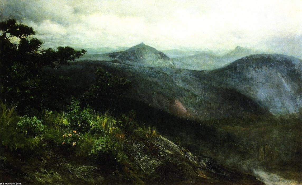 Mountain Landscape, Highlands, North Carolina, 1889 by Henry Ossawa Tanner (1859-1937, United States) | Museum Quality Reproductions | WahooArt.com