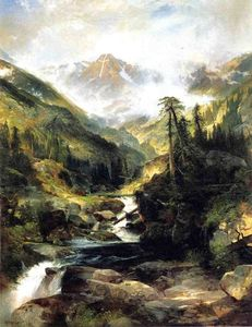 Thomas Moran - Mountain of the Holy Cross