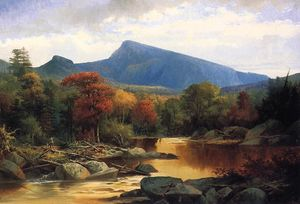 John Mix Stanley - Mount Carter - Autumn in the White Mountains