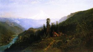 William Keith - Mount Hood from Hood River