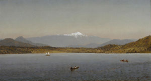 Jasper Francis Cropsey - Mount Washington from Lake Sebago