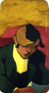 Jean Edouard Vuillard - Man Reading