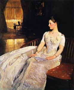 Mrs. Cecil Wade, Oil On Canvas by John Singer Sargent  (order Fine Art Hand Painted Oil Painting John Singer Sargent)