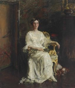 William Merritt Chase - Mrs. Eldridge Reeves Johnson