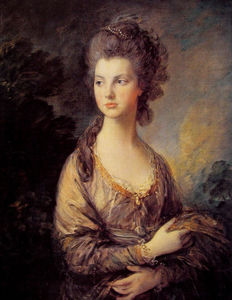 Thomas Gainsborough - Mrs. Graham