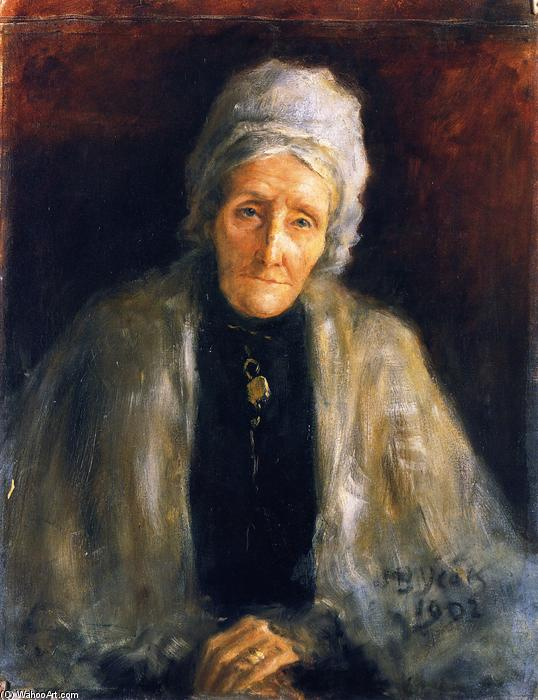 Mrs. Lenny, 1902 by John Butler Yeats (1871-1957, United Kingdom) | Oil Painting | WahooArt.com