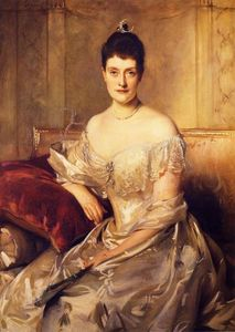 John Singer Sargent - Mrs. Mahlon Day Sands (Mary Hartpeace)