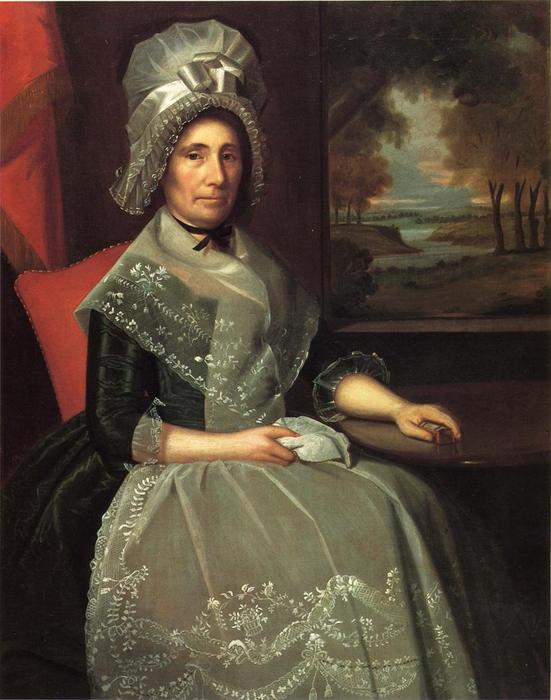 Mrs. Richard Alsop, 1792 by Ralph Earl (1751-1801, United States) | Museum Quality Reproductions | WahooArt.com