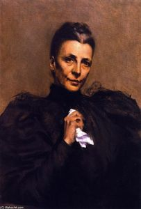 William Merritt Chase - Mrs. Union Samuel Betts Lawrence