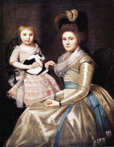 Ralph Earl - Mrs. William Taylor and Son Daniel