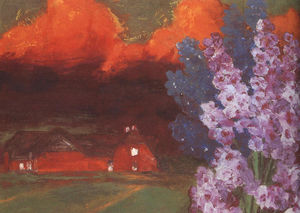 Emile Nolde - Muggy Evening
