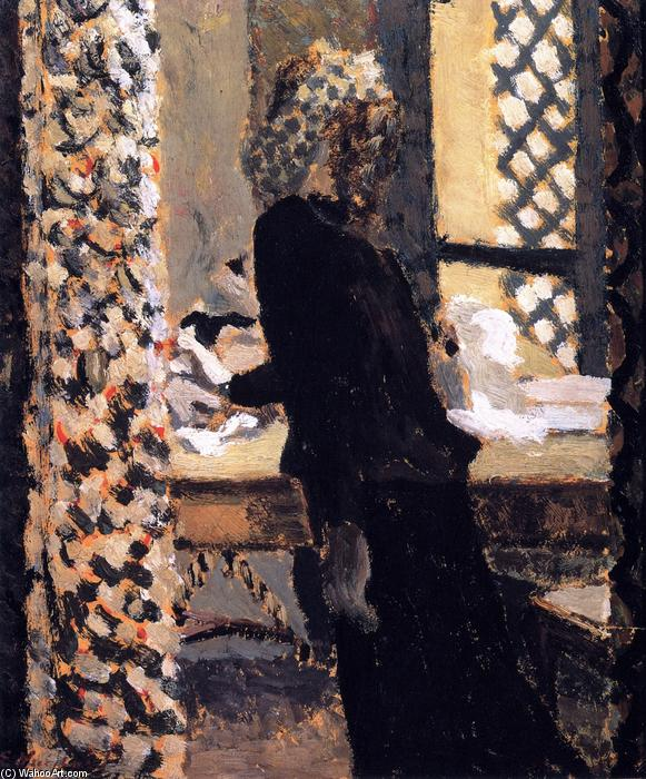 The Mumps, Oil On Panel by Jean Edouard Vuillard (1868-1940, France)