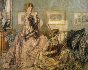 Philip Wilson Steer - The Music Room